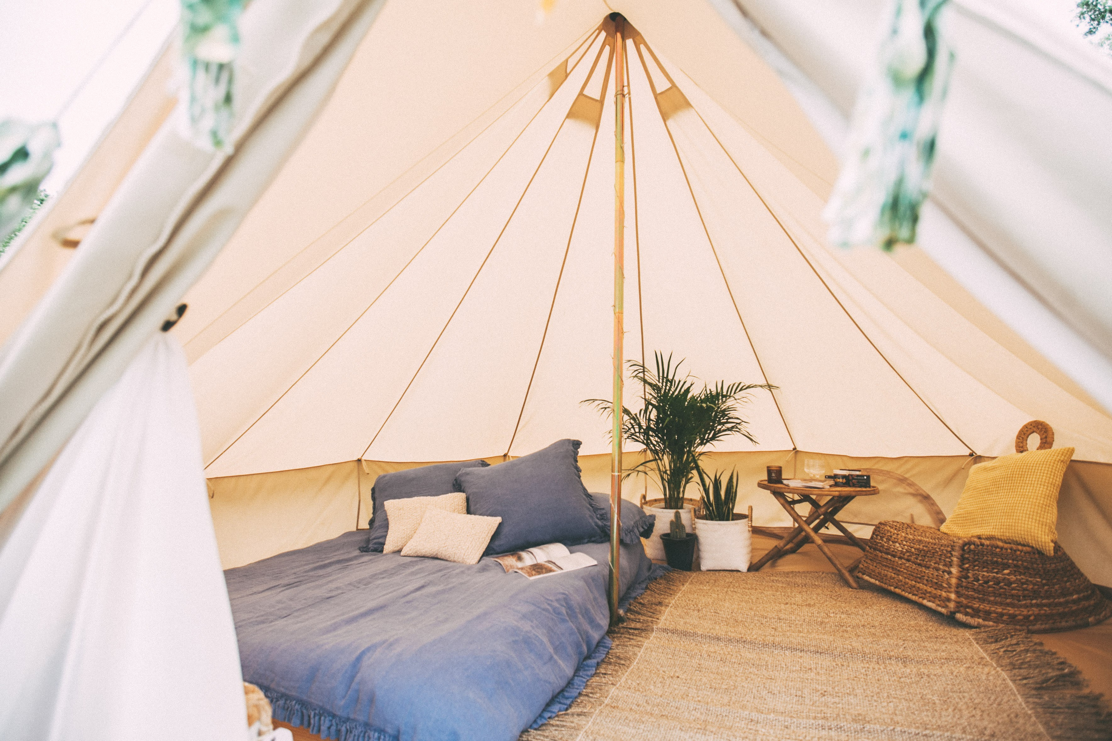 Bell tents Sussex